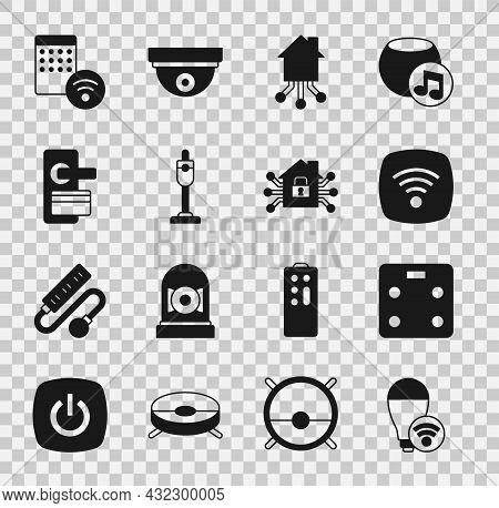 Set Smart Light Bulb, Bathroom Scales, Wi-fi Wireless Internet Network, Home, Vacuum Cleaner, Digita