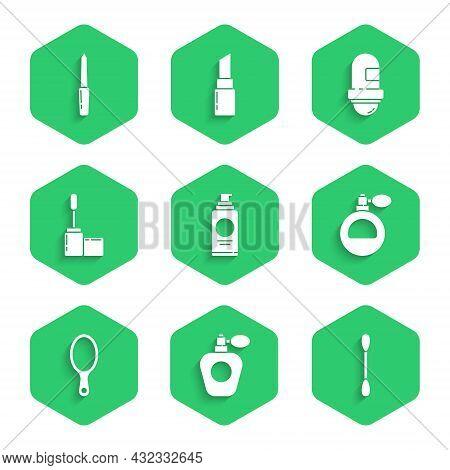 Set Spray Can For Hairspray, Perfume, Cotton Swab Ears, Hand Mirror, Mascara Brush, Antiperspirant D