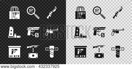 Set Buying Gun Pistol, Pistol Or Search, Hunting, Military Ammunition Box, Assault Rifle, Knife Hols