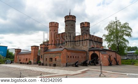 Fort Friedrichsburg Was A Fort In Königsberg, Germany. The Only Remnant Of The Former Fort Is The Fr