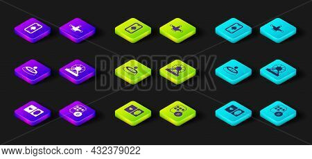 Set Deck Of Playing Cards, Lottery Ball On Bingo, Casino Roulette Wheel, Machine, Joker And Online P