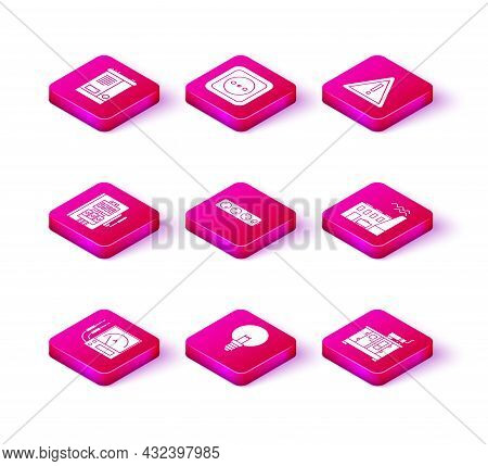 Set Ampere Meter, Multimeter, Voltmeter, Light Bulb, Electrical Panel, Extension Cord, Diesel Power