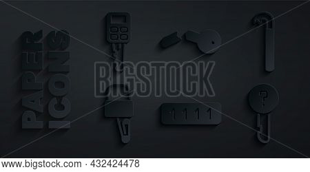 Set Password Protection, Crowbar, Lock Picks For Lock Picking, Undefined Key, Broken And Car With Re