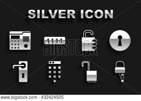 Set Password Protection, Keyhole, Lock Picks For Lock Picking, Open Padlock, Door Handle, Safe Combi