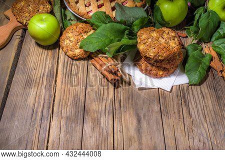 Autumn Apple Cookies And Pie