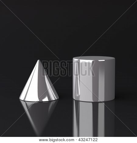 Cone and Cylinder
