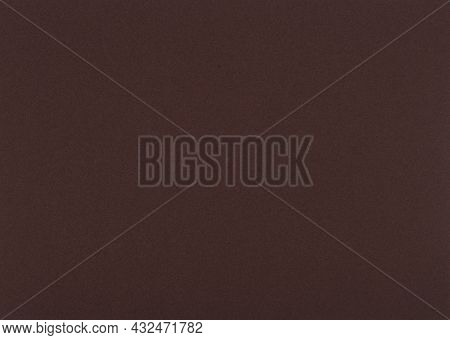 Dark Brown Paper Background. Woody Brown Colour Paper Texture.