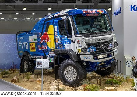 Kamaz-435091 From The Kamaz Master Racing Team - The Sports Truck For Offroad Rally. International C