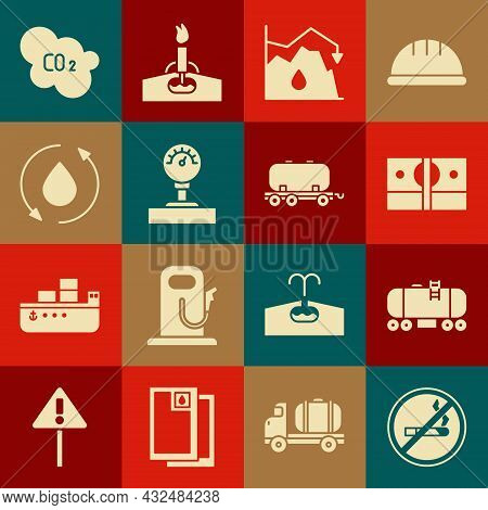 Set No Smoking, Oil Railway Cistern, Stacks Paper Money Cash, Drop Crude Oil Price, Gauge Scale, Dro