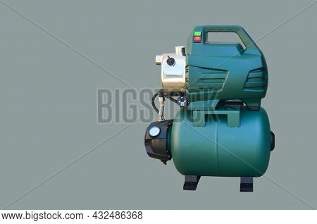 Pumping Station For Automatic Water Supply, Irrigation Of Garden Plots, Pumping Of Ground Water, As