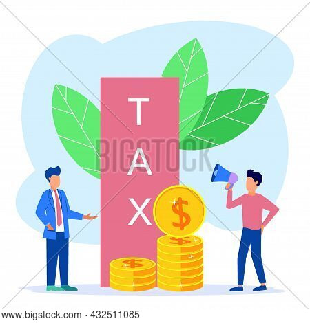 Paying Taxes Every Year, Obedient Entrepreneurs Pay Taxes. Business Profit That Reaches The Target.