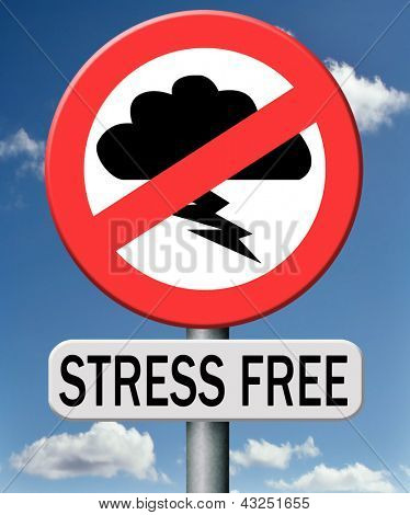 stress free zone trough control management and therapy reduce the work pressure in your job. Learn to relax and become zen and stressless.