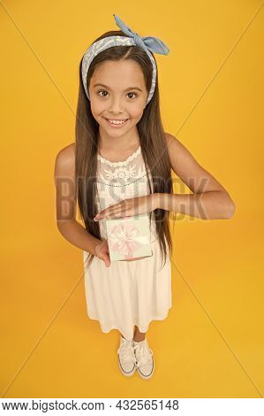 Accessory Shop. Present For Teen Girl. Womens Day. Spring Holidays. Cute Small Kid Adorable Girl. Fa