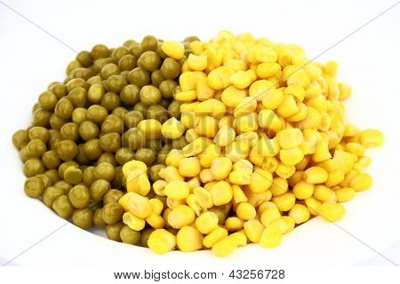 Pease and corn