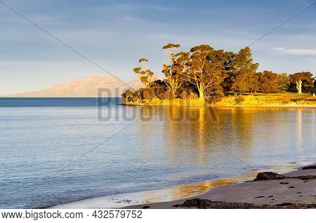 Jubilee Beach Is A Safe Sandy Beach Situated Immediately Below The Town Centre - Swansea, Tasmania,