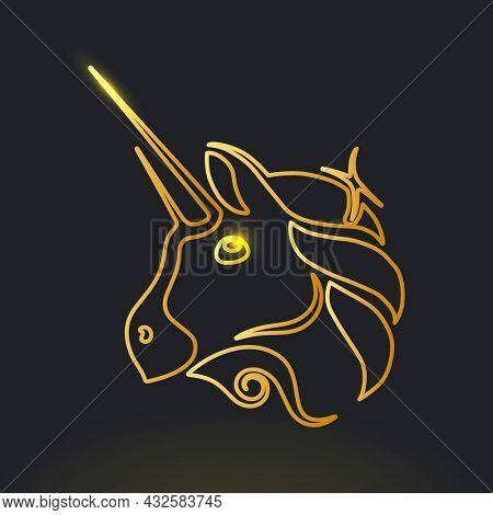 Uniswap cryptocurrency unicorn icon blockchain finance concept