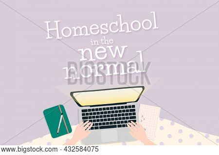 Homeschool in the new normal through e-learning system
