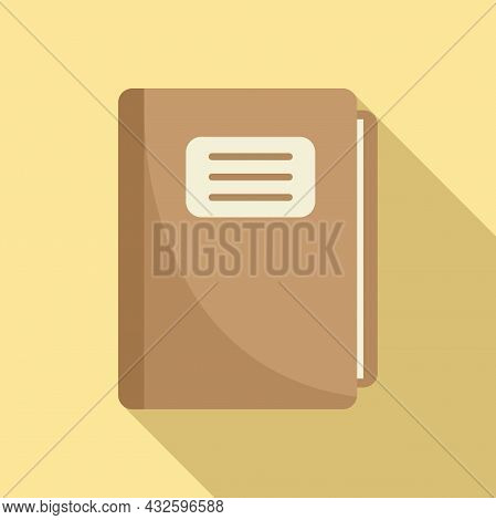Business Standard Icon Flat Vector. Policy Quality. Regulatory Law