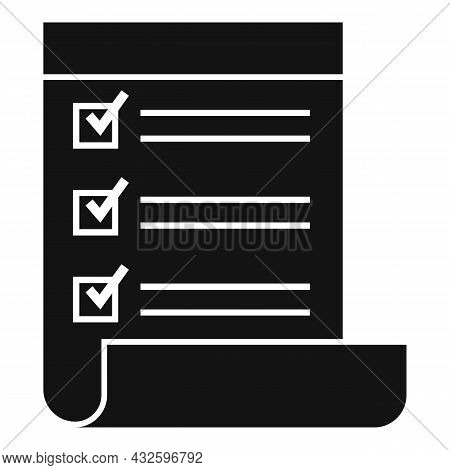 Standard Regulatory Icon Simple Vector. Policy Quality. Iso Law