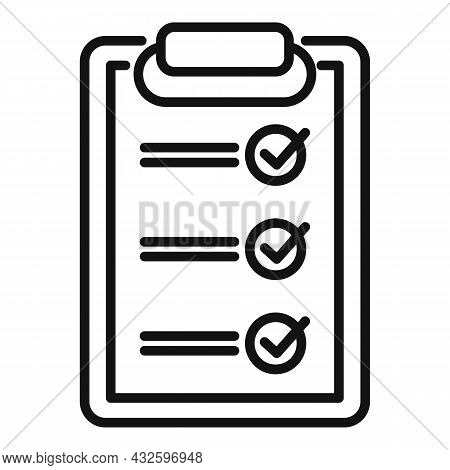 Standard Policy Icon Outline Vector. Quality Compliance. Regulatory Iso
