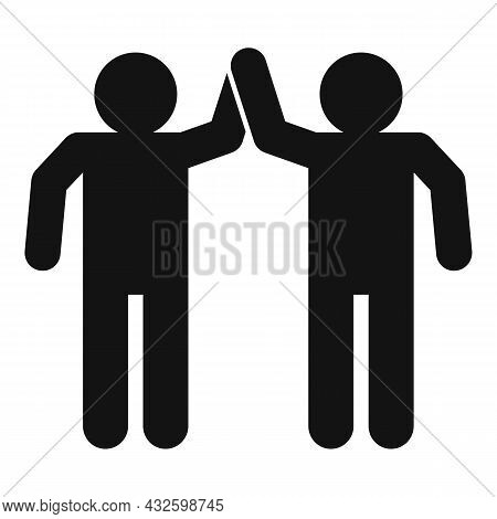 Trust People Icon Simple Vector. Business Deal. Work Partner