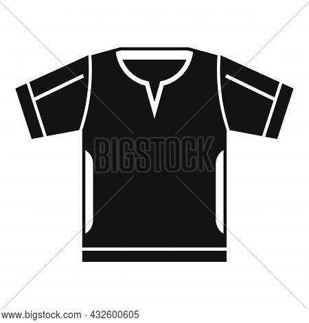 Referee Clothes Icon Simple Vector. Penalty Card. Sport Game