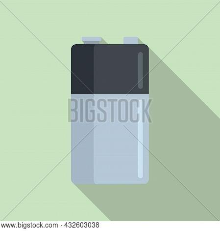 Battery Level Icon Flat Vector. Full Energy. Lithium Power