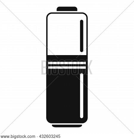 Full Battery Icon Simple Vector. Phone Energy. Power Lithium