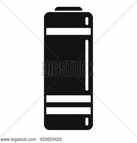 Low Battery Icon Flat Vector. Energy Phone. Lithium Charge