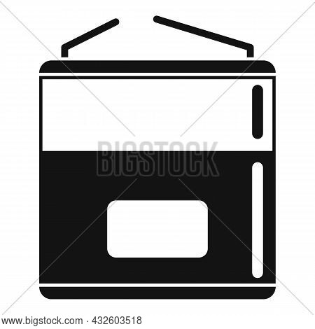 Nickel Battery Icon Simple Vector. Full Charge. Phone Lithium