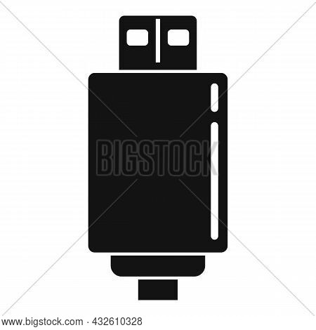 Wall Charger Icon Simple Vector. Mobile Usb. Battery Cell