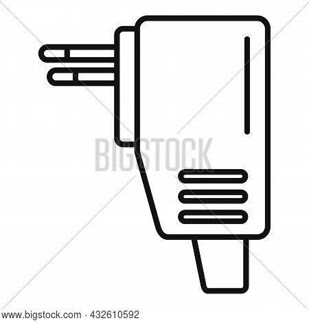 Recharge Mobile Icon Outline Vector. Phone Charger. Cellphone Plug
