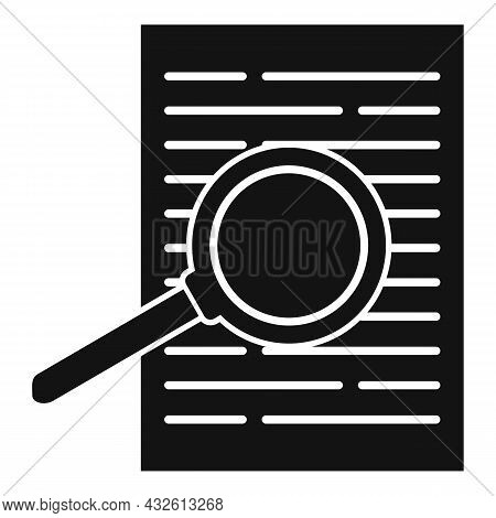 Product Review Paper Icon Simple Vector. Online Evaluation. Customer Star