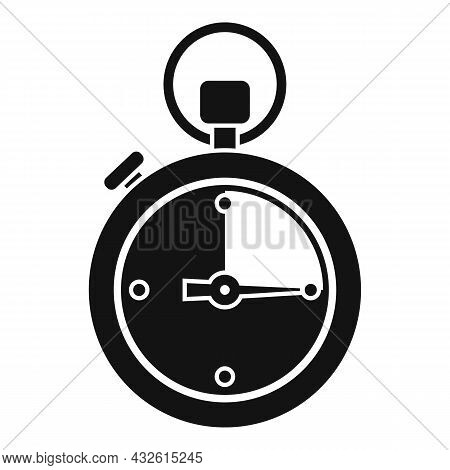 Stopwatch Interval Icon Simple Vector. Stop Clock. Watch Timer