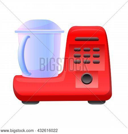 Cooking Mixer Icon Cartoon Vector. Food Processor. Kitchen Blender