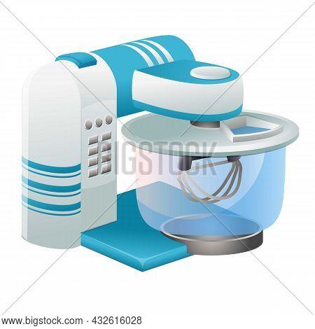 Juice Mixer Icon Cartoon Vector. Food Processor. Kitchen Blender