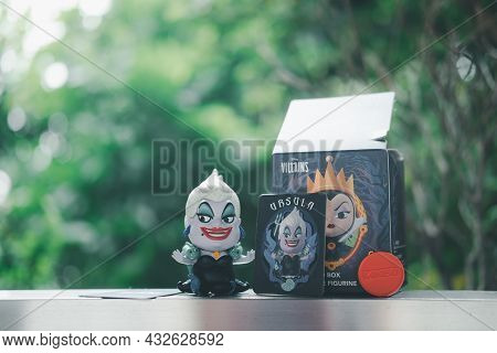 Bangkok, Thailand - September 11, 2021 : Ursula (also Known As The Sea Witch) Animated Feature Film