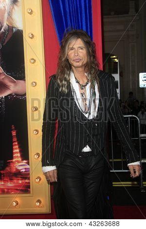 LOS ANGELES - MAR 11:  Steven Tyler arrives at the World Premiere of