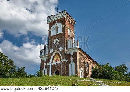 Old Ancient Orthodox Church Of St. Barbara. Raitsa Village, Grodno Region, Korelichi District, Belar