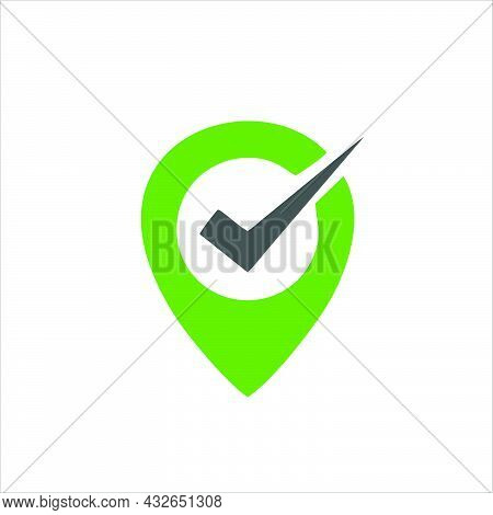Check Mark Icon.  Check Mark Symbol For Logo, Web, App, Ui.