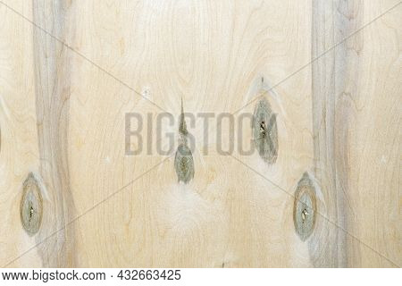Unsanded Plywood. Background And Texture Of Multilayer Plywood.
