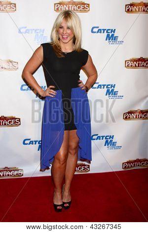 LOS ANGELES - MAR 12:  Chelsie Hightower arrives at the
