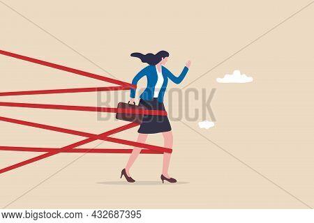 Gender Barrier, Woman Career Obstacle Or Inequality, Limitation Or Discrimination, Effort To Overcom