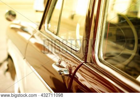 Old Rare Car Wallpaper Background Topical Car Vintage Rarity Retro Style Fashion 60s 70s 80s Trend C