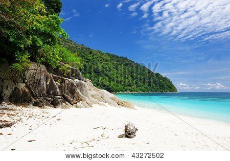 Beautiful beach at Perhentian islands, Malaysia