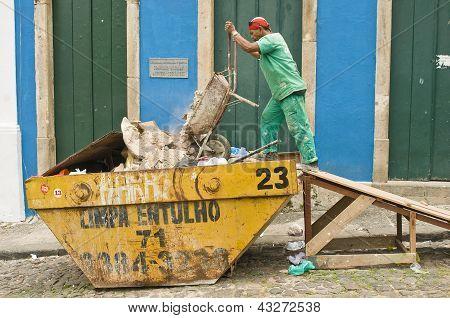 Cleanup at Salvador, Brazil