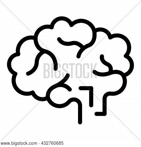 Brainstorming Icon Outline Vector. Brain Group. Business Idea