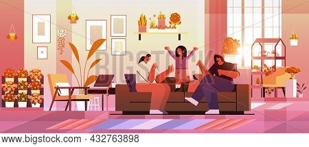 Female Parents Playing With Little Child Lesbian Family Transgender Love Lgbt Community Concept