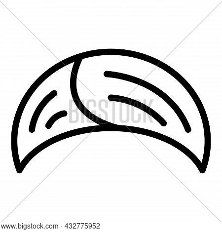 Turban Icon Outline Vector. Indian Pagdi. Pagdi Hat