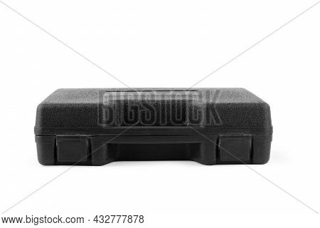 Black Case Isolated On White Background Will, One, Lock, Luggage, On, Business, Case, Travel,